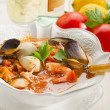 Fish soup - Stock Photo