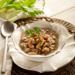 Beans soup — Stock Photo