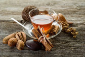 Spiced tea — Stock Photo