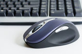 Wireless computer mouse — Stok fotoğraf