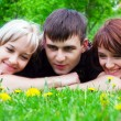 Happy young friends — Stock Photo #6217411