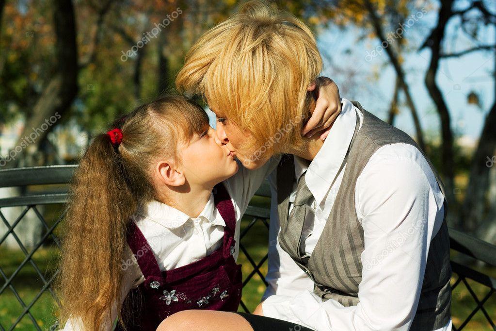 Loving kiss — Stock Photo © wrangler #6270757