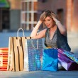 Big shopping — Stock Photo