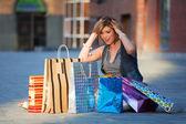 Groß einkaufen — Stockfoto