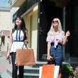 Two young women shopping — Stock Photo #6322021