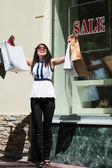 Happy shopper — Stock Photo