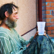 homeless man — Stock Photo #6349709