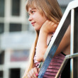 Royalty-Free Stock Photo: Teenage girl looking away