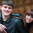 Happy young couple — Stock Photo #6418084