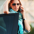 Businesswoman on the phone — Stock Photo #6554527