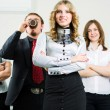 Happy young business team — Stock Photo #6554662