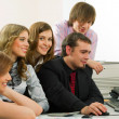 Young business team — Stock Photo #6554672