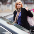 Young woman with shopping bags — Stock Photo #6557078