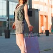 Young woman with shopping bags — Stock Photo #6573494