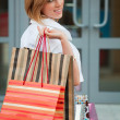 Young woman with shopping bags — Stock Photo #6586876