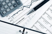 Informes financieros — Foto de Stock