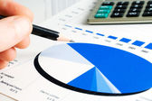 Financial analysis — Stockfoto