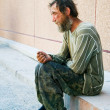 Homeless man — Stock Photo