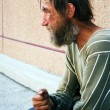 Homeless man — Stockfoto