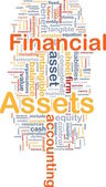 Financial assets is bone background concept — Stock Photo