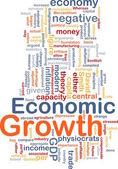 Economic growth is bone background concept — Stock Photo