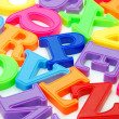 Foto Stock: Letters background
