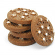 Cocoa biscuits — Stock Photo