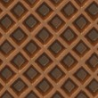 Stock Photo: Chocolate wafer