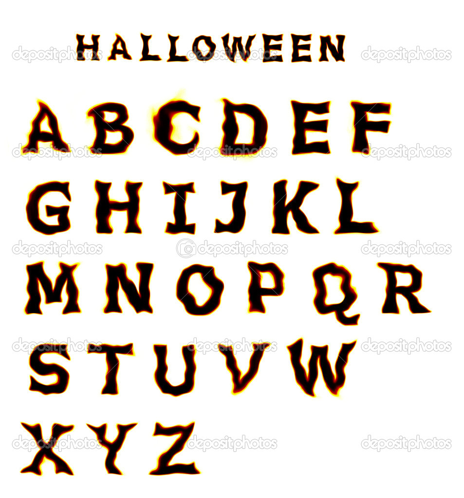 1000 Images About Lettering On Pinterest Halloween Fonts Halloween ...