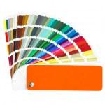 Color sample — Stock Photo