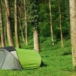 namiot kempingowy — Zdjęcie stockowe
