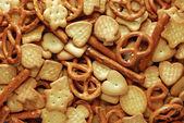 Crackers mix — Stock Photo