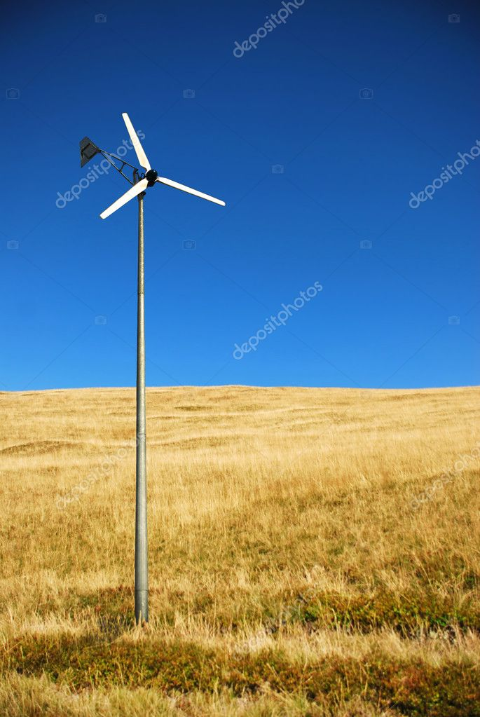 Windmill  Stock Photo #5569345