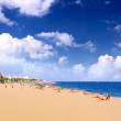 Stock Photo: Beaches, coast in Spain .