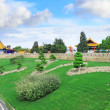 Landscape view of the Chinese park. - Stock Photo