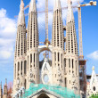 Temple Sagrada Familia- of Gaudi in Barcelona. Spain — Stock Photo #6216681