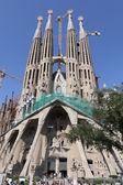 Temple Sagrada Familia.Barcelona. — Stock Photo