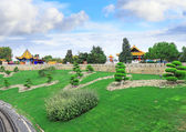 Landscape view of the Chinese park. — Stock Photo