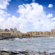 Alexandria, seafront view . Egypt — Stock Photo