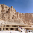 Overview Temple of Queen Hatshepsut at Luxor .Egypt — Stock fotografie