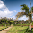 Park in Montaza Palace in Alexandria, Egypt. - Stock Photo