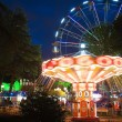 Night illumination in Park Riviera , Sochi city- Capital of Olympic Game 20 — Stock Photo