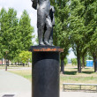 Monuments of Pushkin A.S. Pushkinskaya Quay. Taganrog. Russia — Stock Photo