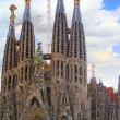 Temple Sagrada Familia.Barcelona. — Stock Photo #6285456