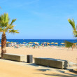 Beaches, coast in Spain . — Stock Photo