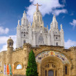 Temple on mountain, Barcelona.Spain — Stock Photo #6285738