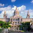 Placa De Espanya, Barcelona — Stock Photo