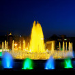 Fountain in Barcelona.Spain. — Stock Photo