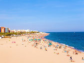 Beaches, coast in Spain . — Foto Stock