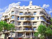 House Casa Mila , Barcelona,Spain. — Stock Photo